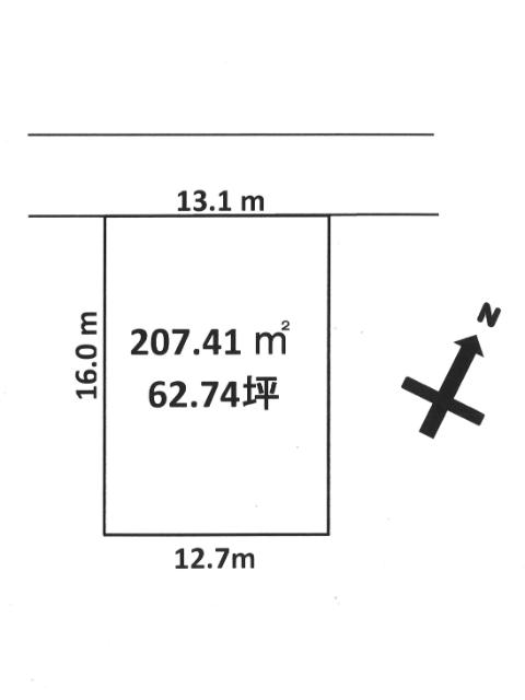 間口 13.1m