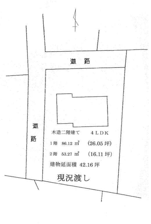 建物の配置図