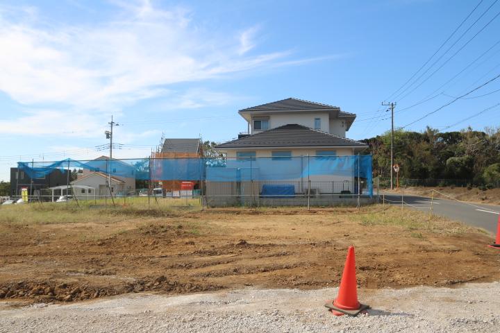 袖ケ浦市 サウスアステージ神納 2期 NO.11 南ひな壇の土地