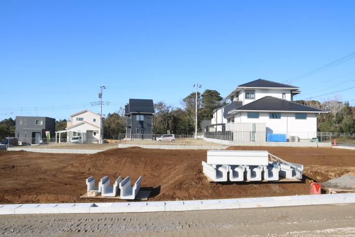 袖ケ浦市 サウスアステージ神納 2期 NO.12 南ひな壇の土地