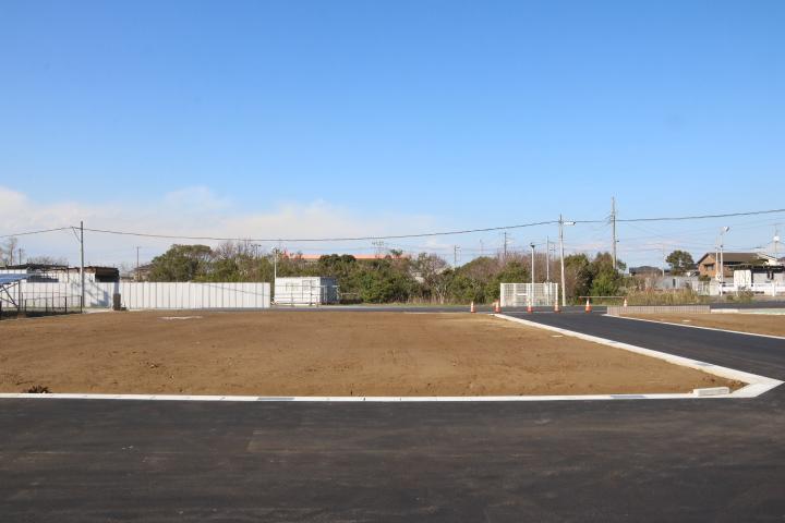 I区画 750万円  50.62坪  東側と南側の角地 6m道路面