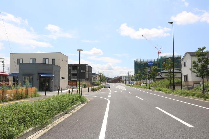袖ヶ浦駅へ