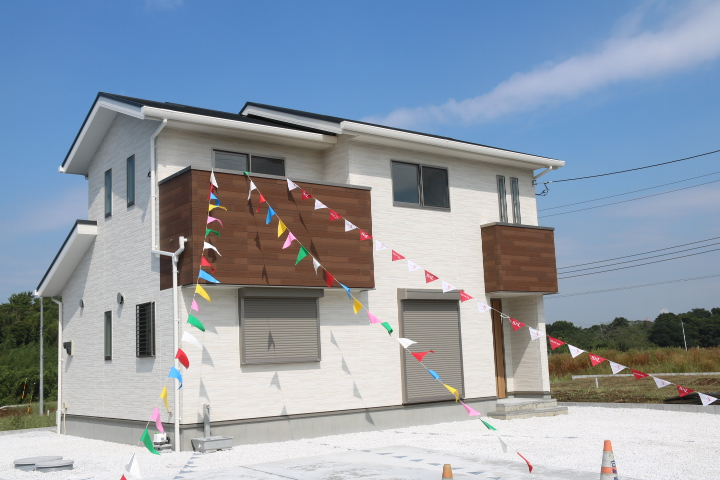 袖ケ浦市 蔵波 ハウスメーカーの新築